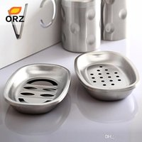 Bathroom Hardware Bathroom Fixtures Smile Monkey Soap Holder Dish Bathroom Shower Storage Support Stand Stainless Steel Small Square Soap Dishes