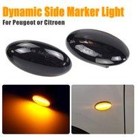 LED Side Marker Light Repeater Lamp For Peugeot 206 307 407 Partner Expert Citroen Berlingo Xsara Picasso Jumpy C1 C2 C3 C5