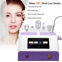 ingrosso macchina per pulizia del chiodo-Macchina laser a diodi 980nm Macchina per la pulizia di vasi per la rimozione di funghi per unghie Trattamenti per vene laser per uso in salone di bellezza