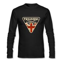 ingrosso ragazzo asiatico-Fashion UK Flag Tee Shirt Uomo Brand Designer a maniche lunghe T-shirt ragazzo formato asiatico