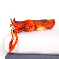Wholesale ocean toys for sale - Group buy Creative Simulation Squid Cuttlefish Plush Toy Animal Decoration Beach Doll Ocean Series Doll Holiday Birthday Christmas Gift