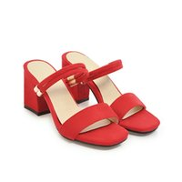 b7239b96f8ef63 Sexy2019 More Clothes Down Women s Fasciola Trip Toe One Word Sandals  Korean Coarse Shoes With Shoe G157