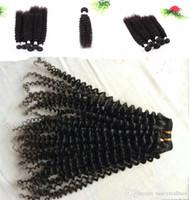 meilleurs cheveux bouclés indiens vierges achat en gros de-Cheveux vierges brésiliens Indien non transformé Jerry Curly Hair 3 Bundles malais péruvien mongolien cambodgien Lot Meilleure vente, DHL gratuit