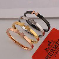 Wholesale hip hop fashion for girls resale online - Personality K Rose Gold Bracelets Fashion Letter Hip Hop Bangle for Girl High Quality Night Club Bracelet for Women