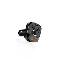 Wholesale mp3 online – 6 V Car MP3 Player Bluetooth FM Transmitter Hands Free Call Audio Type C Port Dual USB Mobile Phone Charging A