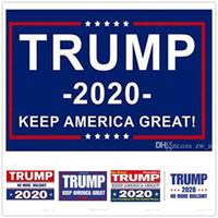 eua bandeira americana venda por atacado-1000 pcs Mais Barato Trump Bandeiras Trump 2020 Manter Americano Grande Novamente Bandeira Bandeira EUA Presidente Eleição Bandeiras