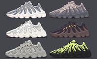 chaussures pour femmes achat en gros de-2019 kanye west 451 hommes chaussures de course femmes designer sneakers sport formateurs sport chaussure mode casual volcanique En plein air chaussures de jogging