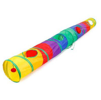Wholesale exercise toys for sale - Group buy Practical Cat Tunnel Pet Tube Collapsible Play Toy Indoor Outdoor Kitty Puppy Toys for Puzzle Exercising Hiding Training and R