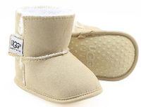 bebek erkek yıldız ayakkabıları toptan satış-Bebek Ayakkabı Yenidoğan Erkekler Kızlar Kalp Yıldız Desenli Birinci Yürüyenler Çocuklar Bebekler Lace Up PU Sneakers 0-18 Ay