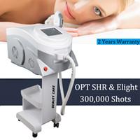 Wholesale laser hair machines for sale resale online - Effective elight skin rejuvenation ipl laser hair removal machine for sale shr hair removal machine with filters