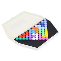 игры головоломки разума оптовых-Игры и пазлы Пазлы IQ Puzzle Пирамидальные бусы Тарелка IQ Pearl Logic Mind Games Головоломки Развивающие игрушки для детей Рождественский подарок