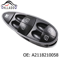 Wholesale benz car parts resale online - HLLADO New Car Electric Master Power Window Switch A2118210058 For Benz E CLASS W211 W219 A2118213579 Auto Parts