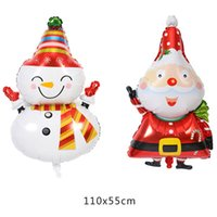Wholesale inflatable party decoration star for sale - Group buy Cute Christmas Tree Star Santa Claus Snowman Bell Foil Balloons Xmas Home Party Decoration Inflatable Air Balloons Gift For Kids