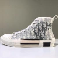 sapatos de corrida flores venda por atacado-Nova B23 Flores Obliques Tess Lazer Designer De Moda De Luxo Plataforma Triplo S Sapatilhas Das Mulheres Dos Homens Do Vintage Trainer Em Execução Sapatos de Atletismo