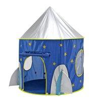 brinquedo da barraca da menina venda por atacado-Hot Folding Princesa Príncipe Jogar Tent Toy Presente Meninas Tendas Da Barraca Do Bebê para Crianças Castelo Portátil Play Tent Casa para As Meninas