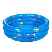 aufblasbare meer pool großhandel-Aufblasbare Baby Schwimmbad Piscina Portable Outdoor Kinder Sea Ball Pool Becken Badewanne Kinder Baby Schwimmen Für Kinder Pla