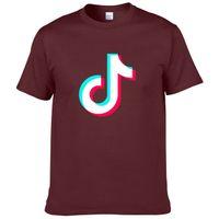 Wholesale trill clothes for sale - Group buy 2019 men s designer clothing tshirt Fashion Men s Printed Tik Tok T Shirt Harajuku TikTok Short Videos Trill Tops Tees Funny T shirt