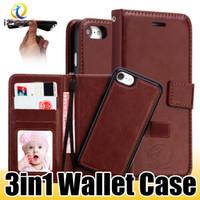 iphone kreditkartenschlitz großhandel-Managetic Flip PU Geldbörsenetui für iPhone XS MAX XR X 8 7 6 Plus Kreditkartenschlitz Ledertasche Geldtasche Hülle