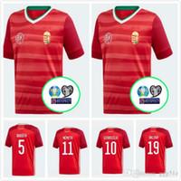 Ungarn Camouflage T-Shirt WM 2018 Trikot Style Fußball Nummer ALL 10