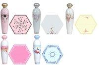 ingrosso bottiglia di profumo ombrello pieghevole-2019 Sunny and Rainy Perfume Bottle Ombrelli di forma Anti-UV Parasole antivento 5 Styles Ombrello di piegatura manuale