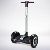 Wholesale two wheel electric car resale online - 10 inch intelligent balance pole car electric twist car travel adult children Bluetooth two wheel drift car