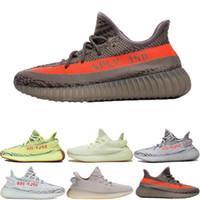 оригинальные баскетбольные туфли для продажи оптовых-Горячая продажа 2018 Новый Оригинальные 350 V2 Kanye West Zebra Beluga Женщины Мужчины Баскетбол Конструкторы кроссовки кроссовки