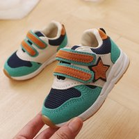 Wholesale shoes sport casual for children resale online - New Sport Children Shoes Kids Boys Sneakers Spring Autumn Net Mesh Breathable Casual Girls Shoes Running Shoe For Kids