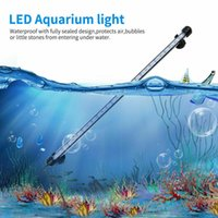 tiras de luz led impermeables ip68 al por mayor-Las acciones estadounidenses tira impermeable RGB LED se ilumina peces de acuario tanque de buceo IP68 luz