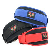 Wholesale waist supports for sale - Group buy Waist Support Sports Protection Belt Weight Lifting Squat Bodybuilding Gravity Training Size Mix Ventilation Sweat Absorption swf1