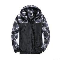 ingrosso giacca modello casual-2019 moda uomo primavera autunno windrunner giacca sottile giacca cappotto, uomo sport giacca a vento modelli esplosione paio clothin uomo J49