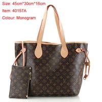 canais sacos venda por atacado-Bolsa da senhora bolsa de luxo bolsa para a mulher bonita bolsa de grife bolsas de designer americano europeu barato preto canais bolsa M40157