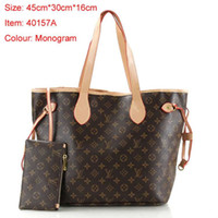 Wholesale women beautiful handbag resale online - lady purse luxury handbag bag for woman beautiful designer handbag european american designer handbags cheap black channels handbag M40157
