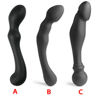 Wholesale buttplug anal massage for sale - Group buy Male Prostata Massage Silicone Anal Plug G Spot Stimulator Anal Beads Butt Plug Sex Toys For Woman Buttplug Prostate Massager Y19070102