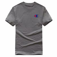 novo preço de vestuário baixo venda por atacado-Baixo preço dos homens novos em torno do pescoço T-shirt das mulheres de mangas curtas polo camisa de roupas masculinas