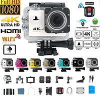sport-helm-action-videokamera groihandel-1200W-Action-Kamera 4K 30FPS Ultra HD WiFi 2.0 170D Wasser wasserdichte Sturzhelm-Videokameras Go Extreme Pro-Sport-Kamera