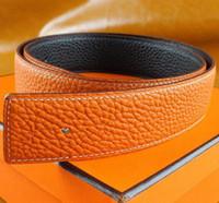 ceintures noms de marque achat en gros de-Meilleure qualité designer de marque de qualité mode hommes d'affaires ceinture ceintures boucle automatique ceintures en cuir véritable pour hommes 105-125 cm livraison gratuite