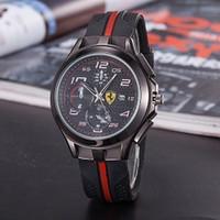 9d53d0e5bfef Nuevos relojes de lujo para hombre de la marca de moda ultrafina reloj F1  para hombres banda de silicona relojes de pulsera de cuarzo reloj masculino  regalo ...