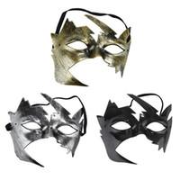 cadılar bayramı için büyüleyici kostümler toptan satış-1 Adet Sevimli Yapraklar Anonim Mardi için Masquerade Cadılar Bayramı Venedik Costumes Karnaval için Göz Parti Maskeler Maske