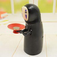 karikatur sparschwein geld großhandel-Kreative Elektro Geld sparen Piggy Bank Fun No Face Man Miyazaki Hayao Chihiros Kind-Karikatur-Spielzeug-Puppen Figur