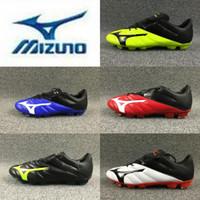 bot futbol markası toptan satış-Yeni Marka 2019 Mizuno NEO II FG Futbol Ayakkabıları Erkek Maillots de Futbol Boots kapalı Ourdoor Gençlik Cleats chaussures ...
