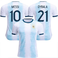 a669eb2b493 Wholesale messi thai jersey online - New Argentina World Cup soccer Jersey  MESSI home DI MARIA