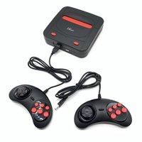 oyun konsolu 16 bit toptan satış-Toptan 16 Bit TV Retro Video Oyun Konsolu Destek TF Kart HD El Oyun Oyuncu 188 Oyun Konsolu