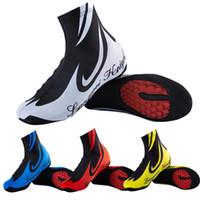 su geçirmez ayakkabı kadınları kapsar toptan satış-Toz Geçirmez Çöl Ayakkabı Açık Bisiklet Erkek Ve Kadınlar Kapakları Su Geçirmez Beyaz Kırmızı Sarı Mavi Yaratıcı Pratik Shoecover 13xaaD1