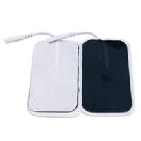Wholesale tens pad adhesive resale online - 5x9cm Self Adhesive Replacement Tens Electrode Pads Square cm Muscle Stimulator Electric Digital Machine Massager