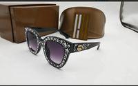 ingrosso i bambini adattano a occhiali da sole-Cat Eye Designer Occhiali da sole per bambini Fashion Girl Boy Cute Sun Glass Kids Gradient UV400 Lovely Eyewear
