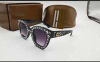 kinder sonnenbrillen jungen großhandel-Cat Eye Designer Sonnenbrillen für Kinder Mode Mädchen Junge Nette Sonnenbrille Kinder Farbverlauf UV400
