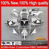 Wholesale zx ninja for sale - Group buy Body For KAWASAKI ZX900CC ZX900 ZX9 R ZX9R HC ZX R R CC ZX R Full Fairings kit silvery black