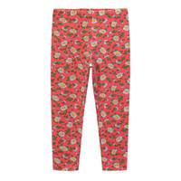 kırmızı bebek tozlukları toptan satış-Sevimli Kız Tozluk Bebek Kız Giysileri Kalem Pantolon Pamuk Çocuklar Pantolon Baskı Çiçek Sıska gül kırmızı # 1098