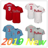 005101ca6 Wholesale baseball jerseys for sale - 2019 New Philadelphia Phillies Jersey  Bryce Harper white Red Grey