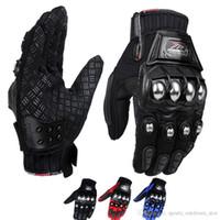 Wholesale moto cycling resale online - New Motorcycle Gloves Men Summer Racing Moto Cycling Motocross Glove Bike Motorbike Protective Full Finger Motocicleta Guantes Luvas